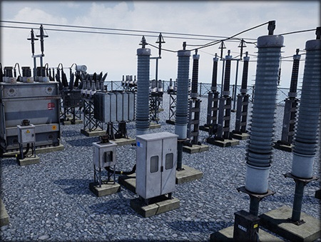 Electric Substation ( Power Grid )