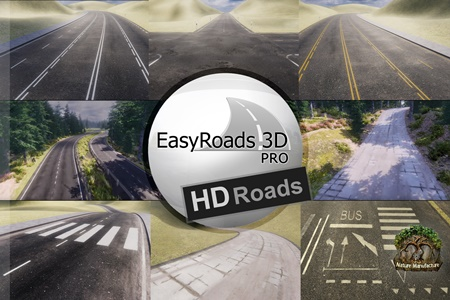 EasyRoads3D Pro Add On HD Roads