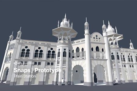 Snaps Prototype   Train Station