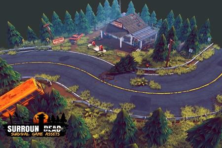 SurrounDead Survival Game Assets