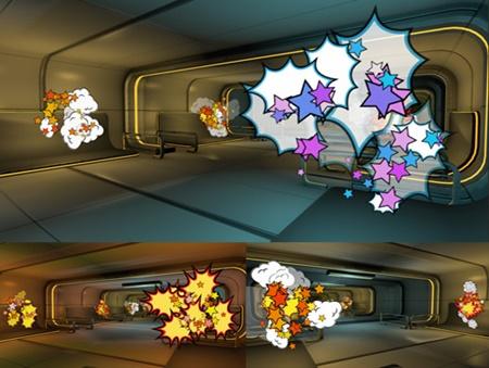 3D Cartoon Explosions Pack Vol 3
