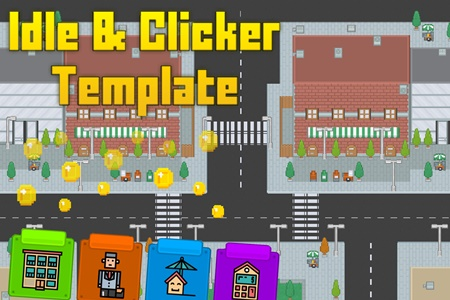 Clicker Idle Game Template