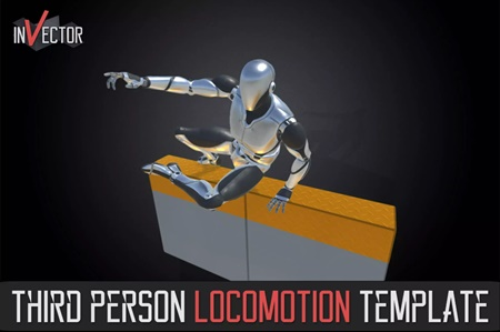 Third Person Controller Basic Locomotion Template