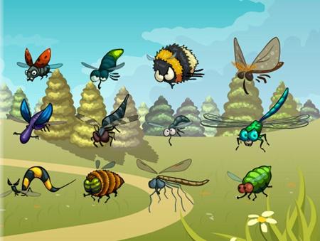 Funny Flying Bugs