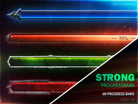 50+ Progress Bars [Pack 4] DANGEROUS PROGRESS