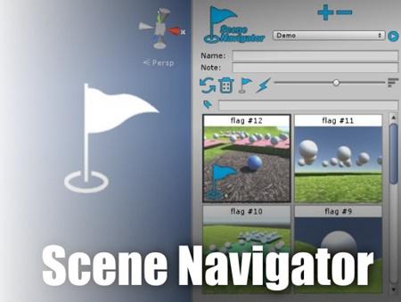 Scene Navigator flag markers utility